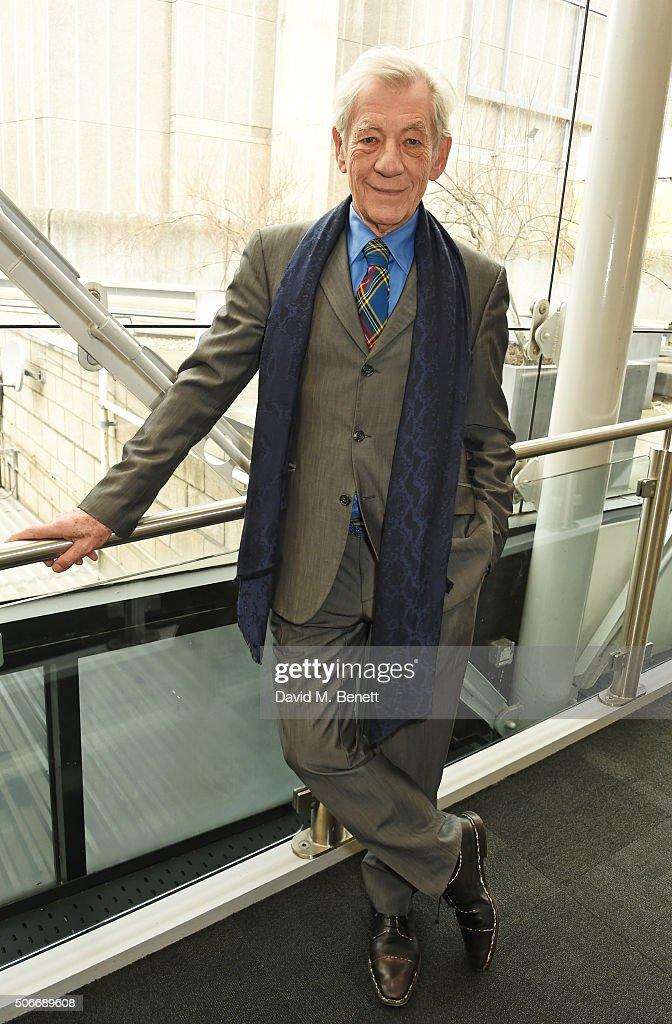 Sir Ian McKellen Launches 'BFI Presents Shakespeare On Film' - Drinks Reception