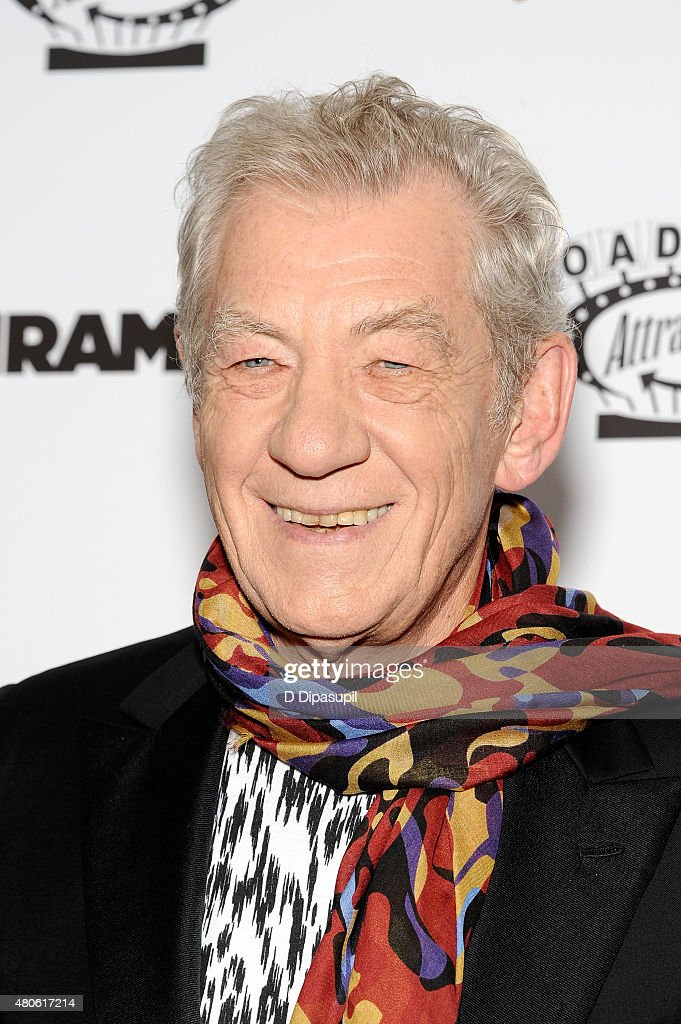 Sir Ian McKellen attends the 'Mr. Holmes' New York Premiere at the Museum of Modern Art on July 13, 2015 in New York City.