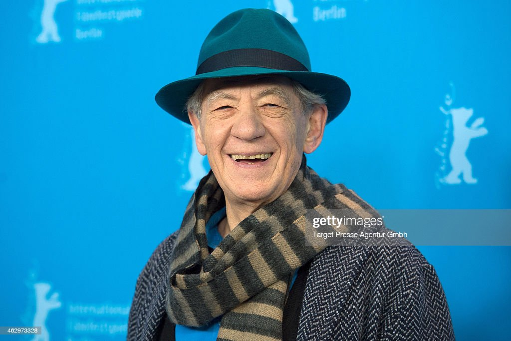 Sir <a gi-track='captionPersonalityLinkClicked' href=/galleries/search?phrase=Ian+McKellen&family=editorial&specificpeople=202983 ng-click='$event.stopPropagation()'>Ian McKellen</a> attends the 'Mr. Holmes' photocall during the 65th Berlinale International Film Festival at Grand Hyatt Hotel on February 8, 2015 in Berlin, Germany.