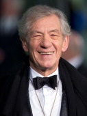Sir Ian McKellen attends the Royal Film Performance of 'The Hobbit An Unexpected Journey' at Odeon Leicester Square on December 12 2012 in London...