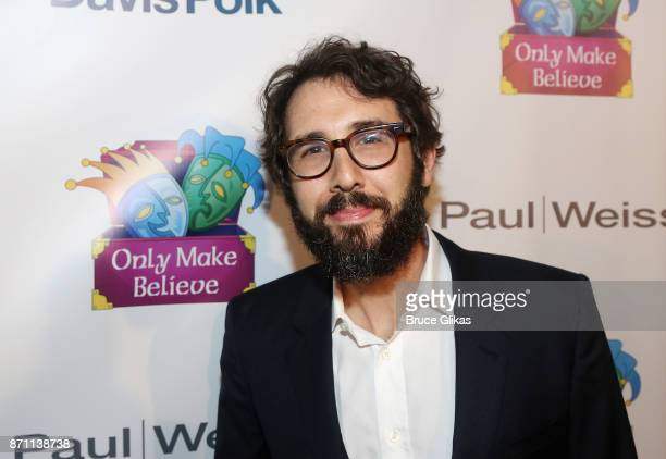 Sir Ian McKellen Award Honoree Josh Groban poses at the '2017 Only Make Believe Gala' at The Gerald Schoenfeld Theatre on November 6 2017 in New York...