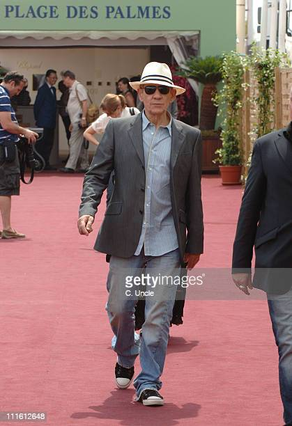 Sir Ian McKellen during 2006 Cannes Film Festival Seen Around Cannes Day 3 in Cannes France