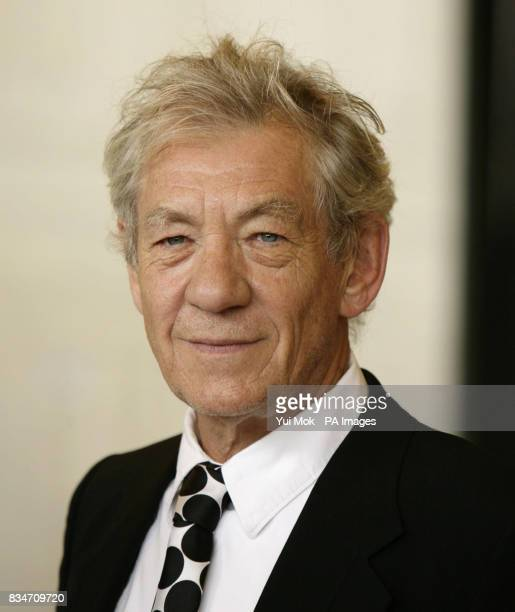 Sir Ian McKellen during a photocall for 'For The Bible Tells Me So' at the Queen Elizabeth Hall Southbank Centre central London
