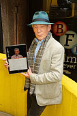 Sir Ian McKellen joins forces with the BFI to launch the new 'Heuristic Shakespeare App' online at the BFI Southbank on April 22 2016 in London...