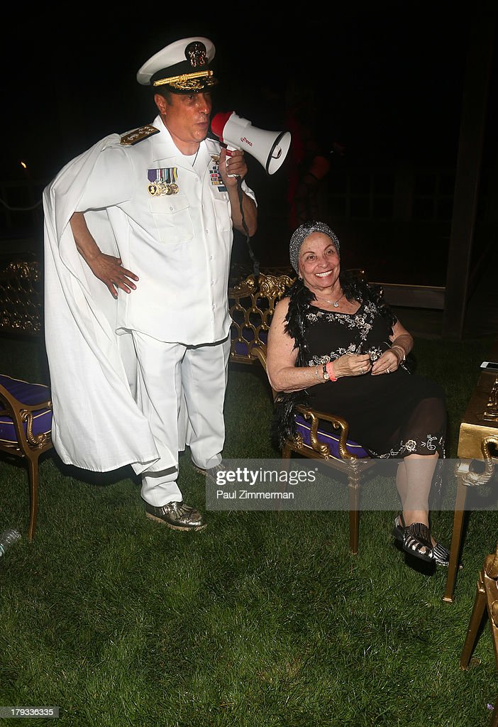 Sir Ivan and his mother Naomi Wilzig attend Sir Ivan's Sailors and Sinners Soiree on September 1, 2013 in Water Mill, New York.