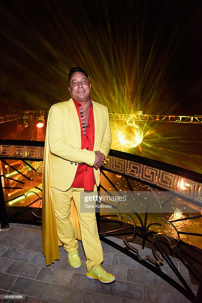 Sir Ivan attends Sir Ivan's celebration of his new hit single 'Here Comes the Sun' at his castle in the Hamptons on August 23, 2014 in Water Mill, New York.