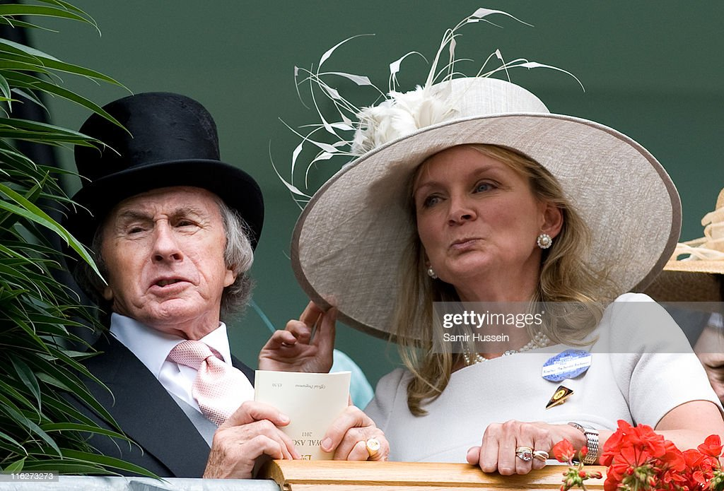 Sir Jackie Stewart and guest attend Day 2 of Royal Ascot at Ascot Racecourse on June 15, 2011 in Ascot, England.