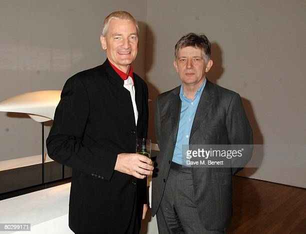 Sir James Dyson and Deyan Sudjic attend the Brit Insurance Design Awards at the Design Museum on March 18 2008 in London England