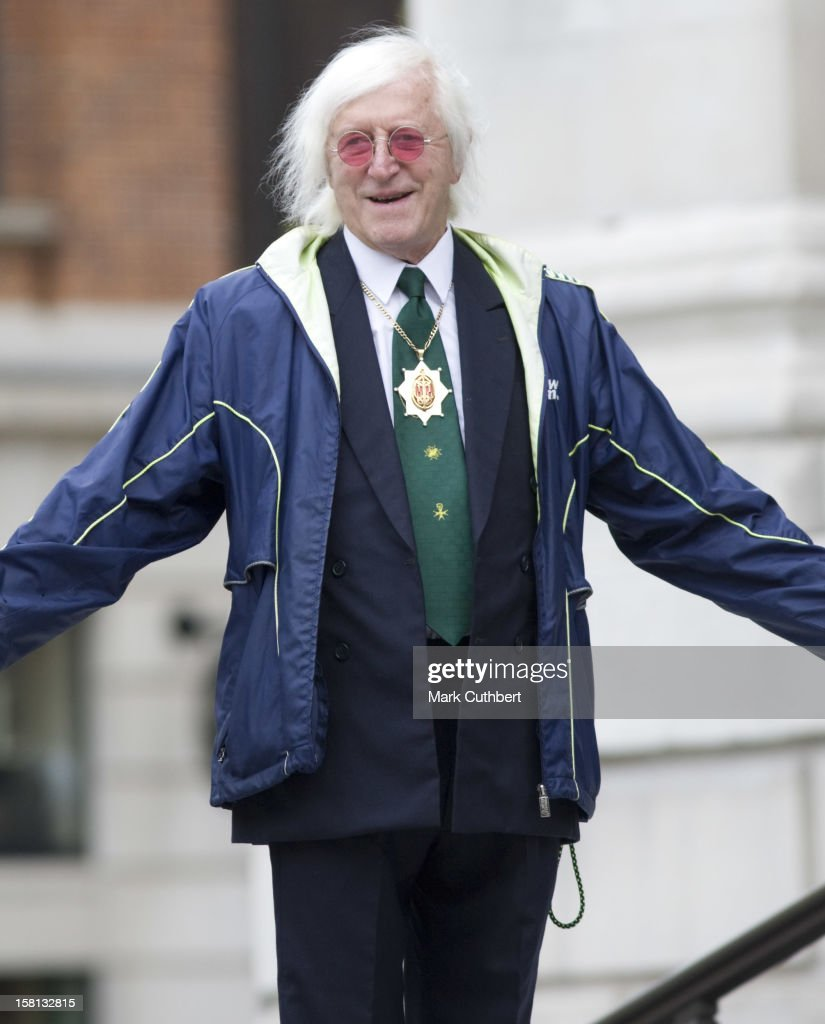 Sir Jimmy Saville Attend The Centenery Service For The Imperial Society Of Knights Bachelor At St Paul'S Cathedral.