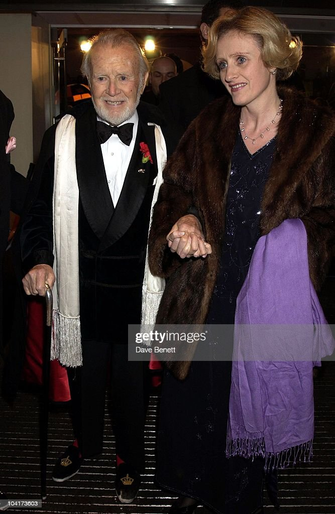 Sir John Mills, The Orange British Academy Film Awards (bafta) 2002, At The Odeon, Leicester Square, London