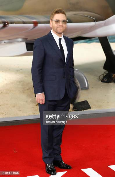 Sir Kenneth Branagh arrives at the 'Dunkirk' World Premiere at Odeon Leicester Square on July 13 2017 in London England