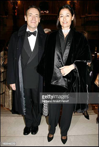 Sir Lindsay Owen Jones and Lady Christina at Gala Performance Of Don Giovanni at Opera Garnier In Paris In Aid Of L'Arop