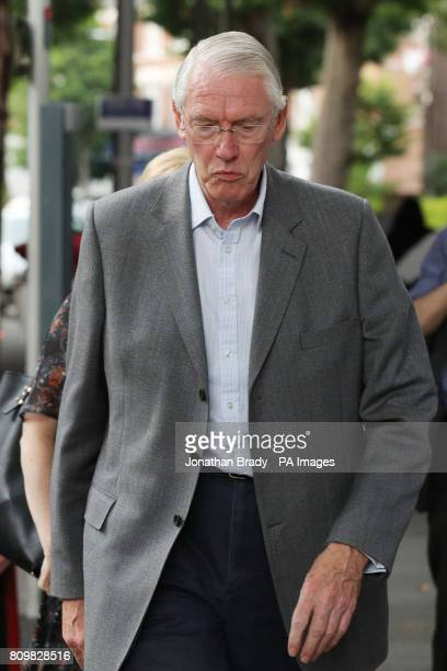 Sir Martin MooreBick arrives at the Latymer Community Church near Grenfell Tower to meet residents and survivors of the Grenfell Tower fire
