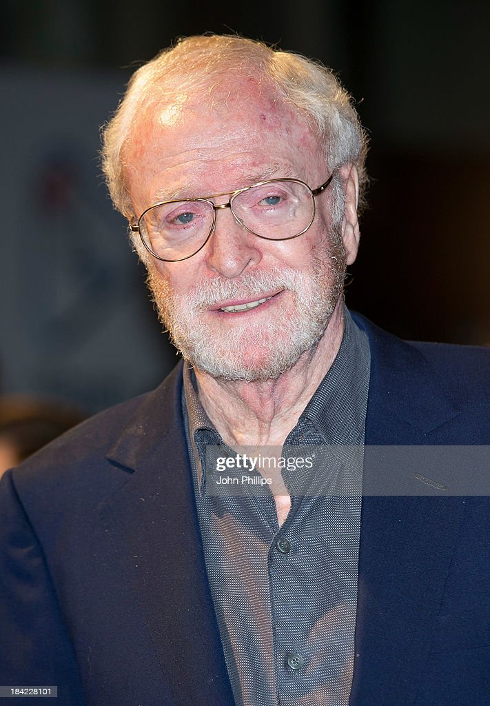 Sir <a gi-track='captionPersonalityLinkClicked' href=/galleries/search?phrase=Michael+Caine+-+Actor&family=editorial&specificpeople=159746 ng-click='$event.stopPropagation()'>Michael Caine</a> attends a screening of 'The Double' during the 57th BFI London Film Festival at Odeon West End on October 12, 2013 in London, England.