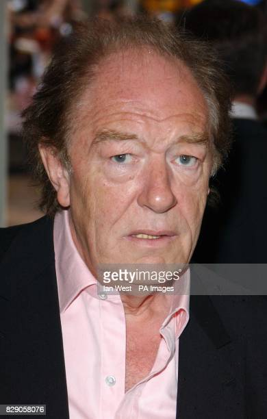 Sir Michael Gambon arrives for the UK premiere of Harry Potter And The Prisoner of Azkaban at the Odeon Leicester Square in Central London the third...
