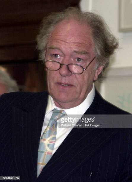 Sir Michael Gambon at the Royal Academy of Art in Piccadilly London for the Queen's Jubilee Arts Party celebrating all areas of the arts as part of...