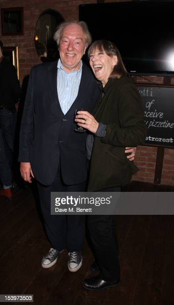 Sir Michael Gambon Dame Eileen Atkins attends an after party celebrating the press night performance of the Jermyn Street Theatre's production of...