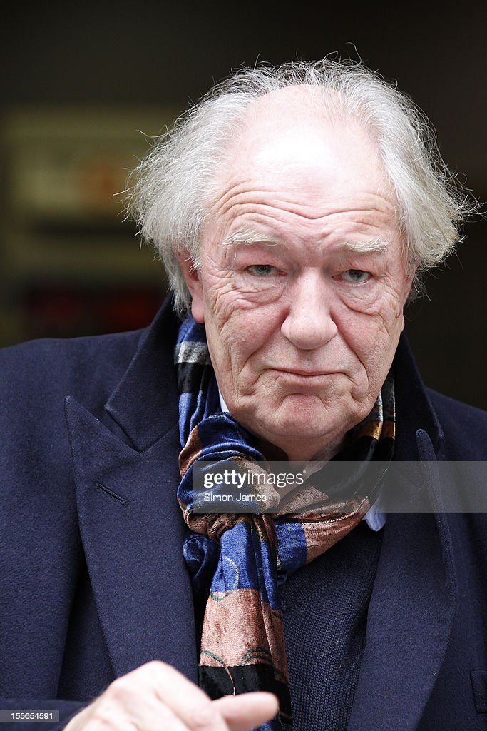 Sir Michael Gambon sighting at BBC radio two on November 6, 2012 in London, England.