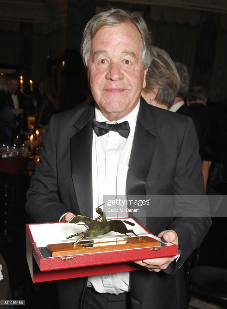 Sir Michael Stoute attends The Cartier Racing Awards 2017 at The Dorchester on November 14, 2017 in London, England.