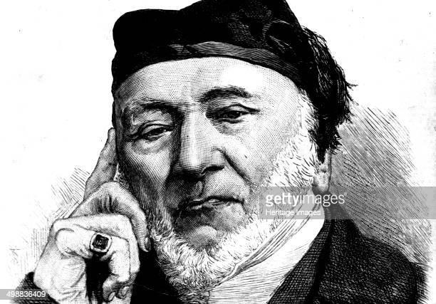 Sir Moses Montefiore Jewish banker and philanthropist 1872