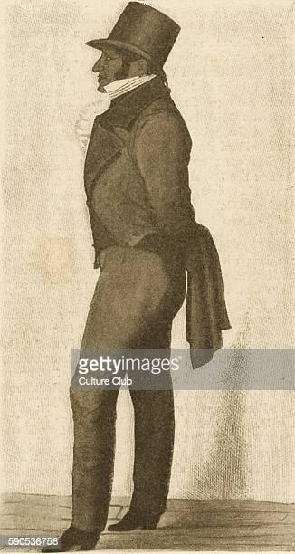 Sir Moses Montefiore portrait British financier Jewish community leader and philanthropist After a sketch by Richard Dighton MM17841885 RD Portrait...