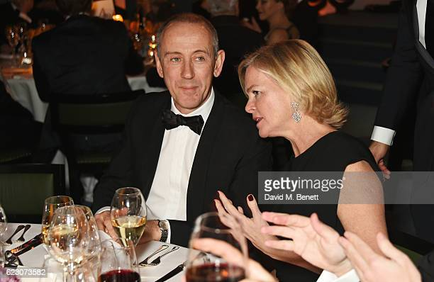 Sir Nicholas Hytner and Ruth Kennedy attend the 62nd London Evening Standard Theatre Awards recognising excellence from across the world of theatre...