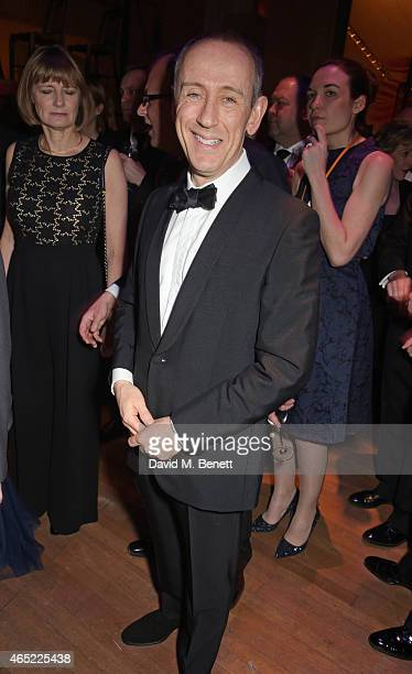 Sir Nicholas Hytner attends Fast Forward The National Theatre's fundraising gala at The National Theatre on March 4 2015 in London England