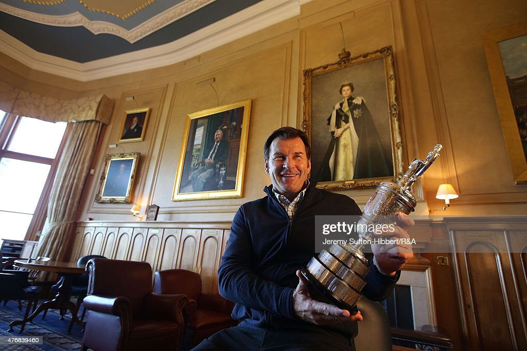 Sir Nick Faldo Portrait Shoot