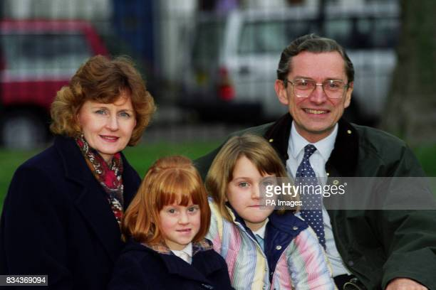 Sir Norman and Lady Fowler with their daughters Isabel five and Kate eight outside their London Fowler resigned as Employment Secretary to spend more...