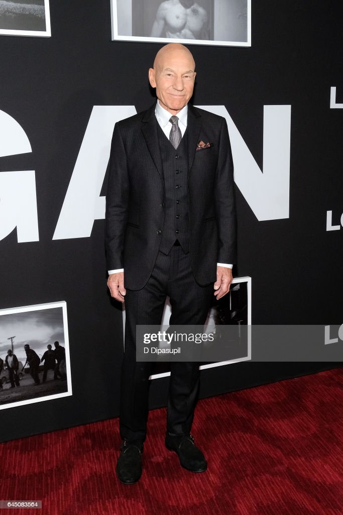 Sir Patrick Stewart attends the 'Logan' New York screening at Rose Theater, Jazz at Lincoln Center on February 24, 2017 in New York City.