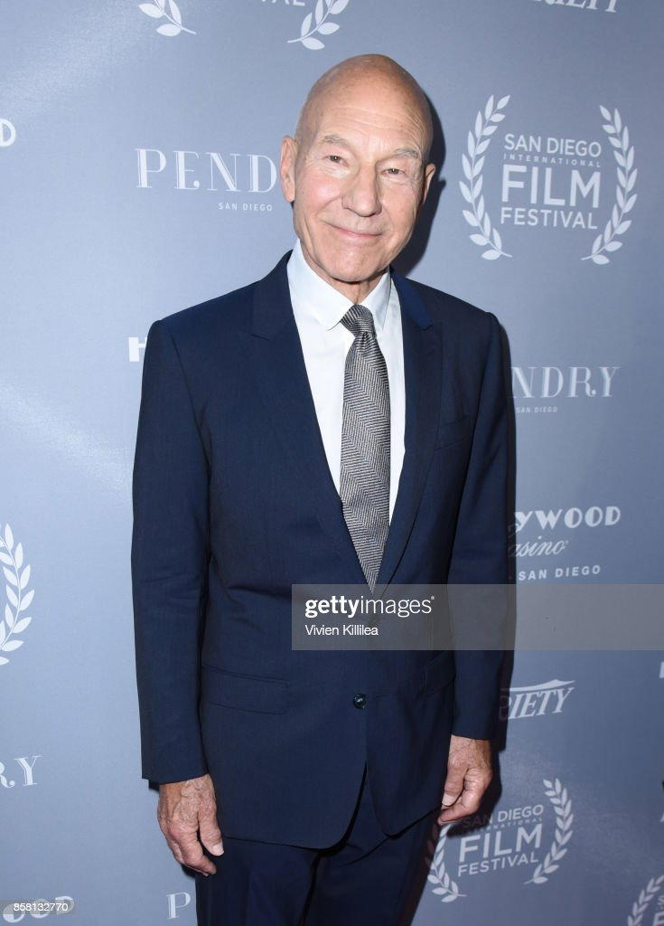 Sir Patrick Stewart attends the San Diego International Film Festival 2017 on October 5, 2017 in San Diego, California.