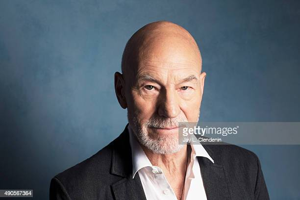 Sir Patrick Stewart from the movie 'Green Room' is photographed for Los Angeles Times on September 25 2015 in Toronto Ontario PUBLISHED IMAGE CREDIT...