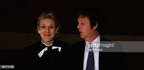 Sir Paul McCartney and his lawyer Fiona Shackleton leave the High Court on March 17 2008 in London England Heather Mills has been awarded 243m GBP in...