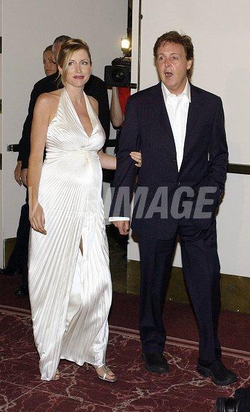 Sir Paul McCartney And Wife