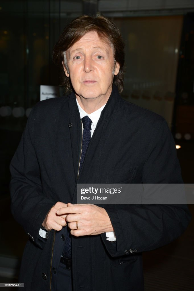 Sir <a gi-track='captionPersonalityLinkClicked' href=/galleries/search?phrase=Paul+McCartney&family=editorial&specificpeople=92298 ng-click='$event.stopPropagation()'>Paul McCartney</a> attends a gala screening of Magical Mystery Tour at The BFI Southbank on October 2, 2012 in London, England.
