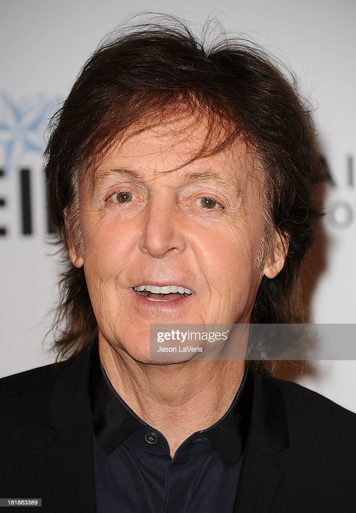 Sir <a gi-track='captionPersonalityLinkClicked' href=/galleries/search?phrase=Paul+McCartney&family=editorial&specificpeople=92298 ng-click='$event.stopPropagation()'>Paul McCartney</a> attends the 23rd annual Simply Shakespeare benefit reading of 'The Two Gentlemen of Verona' at The Eli and Edythe Broad Stage on September 25, 2013 in Santa Monica, California.