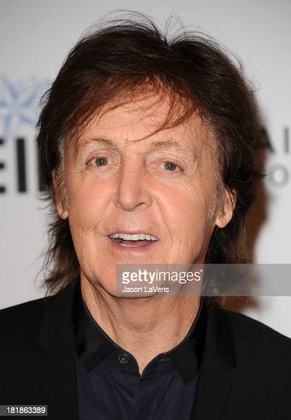 Sir Paul McCartney attends the 23rd annual Simply Shakespeare benefit reading of 'The Two Gentlemen of Verona' at The Eli and Edythe Broad Stage on...