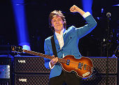Sir Paul McCartney performs in concert at Times Union Center on July 5 2014 in Albany New York