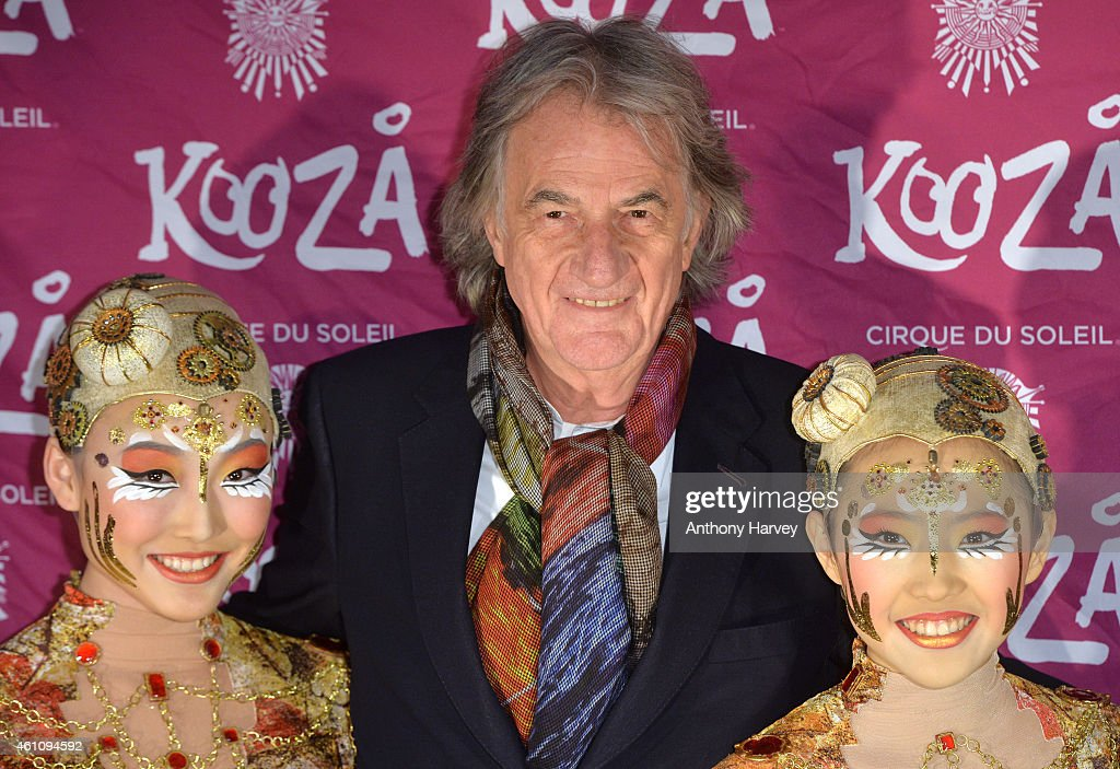 Sir Paul Smith attends the VIP performance of 'Kooza' by Cirque Du Soleil at Royal Albert Hall on January 6, 2015 in London, England.
