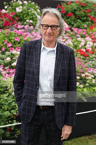 Sir Paul Smith visits the RHS Chelsea Flower Show on May 23 2016 in London England