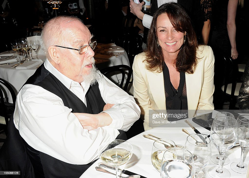 (MANDATORY CREDIT PHOTO BY DAVE M BENETT/GETTY IMAGES REQUIRED) Sir Peter Blake (L) and Trish Simonon attend the Harper's Bazaar Women of the Year Awards 2012, in association with Estee Lauder, Harrods and Tiffany & Co., at Claridge's Hotel on October 31, 2012 in London, England.