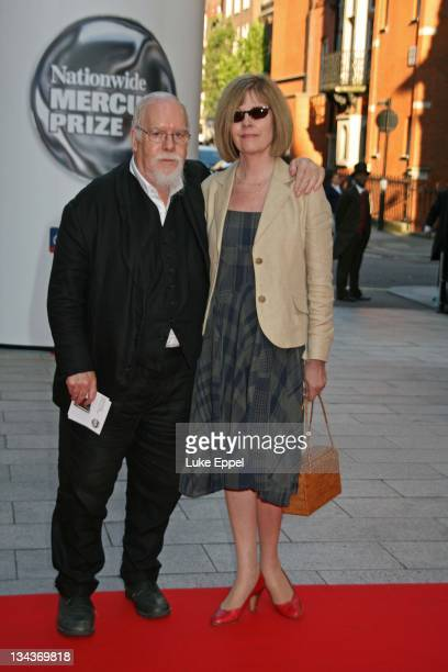 Sir Peter Blake arriving at the Nationwide Mercury Prize on September 4 2007 at the Grovesnor House Hotel in London England
