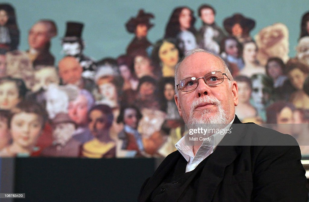 Sir <a gi-track='captionPersonalityLinkClicked' href=/galleries/search?phrase=Peter+Blake&family=editorial&specificpeople=239082 ng-click='$event.stopPropagation()'>Peter Blake</a> attends a ceremony to mark the completion of building works and the launch of the Holburne Challenge at the Holburne Museum on November 12, 2010 in Bath, England. The Grade I listed Holburne Museum is currently closed for restoration and extension but is scheduled to open in 2011 and will house a collection of fine and decorative arts, built around the art collection of Sir William Holburne, assembled in 19th century Bath. The museum holds a nationally significant collection of paintings, Renaissance bronzes and maiolica, silver, sculpture, furniture and porcelain, including important and popular works by Brueghel, Gainsborough, Stubbs and Turner.