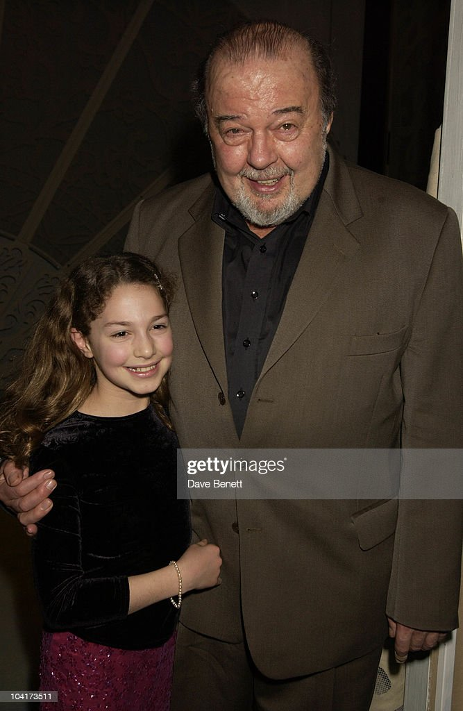 Sir Peter Hall And Daughter Emma, At The Theatre Royal Haymarket,and The Party At The Trafalgar Hotel, London.