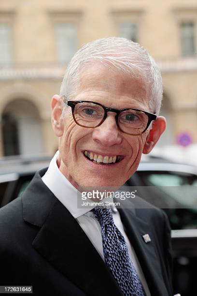 Sir Peter Jonas arrives for the Bernhard Wicki Award ceremony at Munich film festival on July 4 2013 in Munich Germany