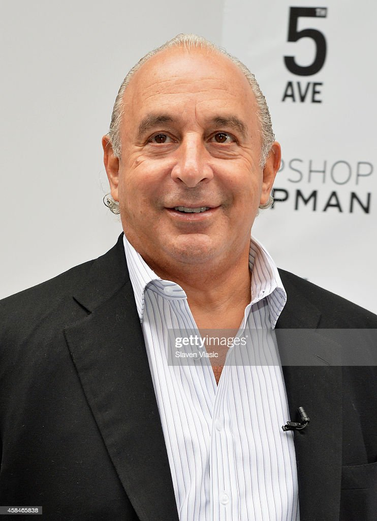 Sir Philip Green attends the Topshop Topman New York City flagship grand opening at Topshop Topman Flagship Store on November 5, 2014 in New York City.