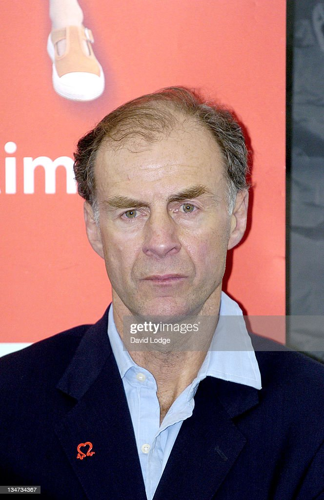 Sir <a gi-track='captionPersonalityLinkClicked' href=/galleries/search?phrase=Ranulph+Fiennes&family=editorial&specificpeople=235354 ng-click='$event.stopPropagation()'>Ranulph Fiennes</a> during Sir <a gi-track='captionPersonalityLinkClicked' href=/galleries/search?phrase=Ranulph+Fiennes&family=editorial&specificpeople=235354 ng-click='$event.stopPropagation()'>Ranulph Fiennes</a> Mt. Everest Climb - Press Launch in London, Great Britain.