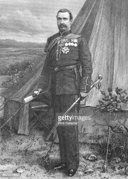 Sir Redvers Buller' circa 188185 Sir Redvers Henry Buller British Army officer After a photograph by Elliott Fry From British Battles on Land and Sea...