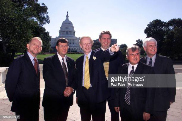 Sir Reg Empey minister for Enterprise Trade and Investment leads his team to Washington to meet with Business and political leaders to encourage US...