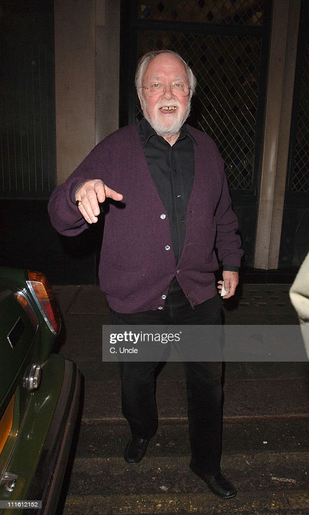 Sir Richard Attenborough Sighting at The Ivy in London - February 1, 2006